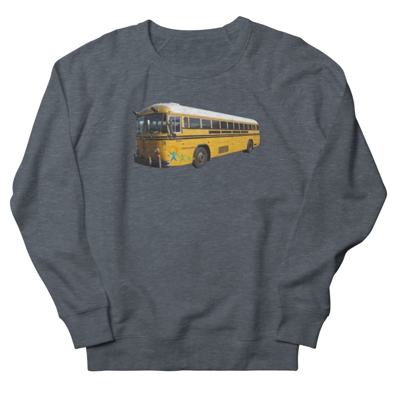 Leia Bus Men's French Terry Sweatshirt by The Life of Curiosity Store