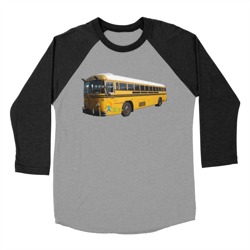 Leia Bus Women's Baseball Triblend Longsleeve T-Shirt by The Life of Curiosity Store