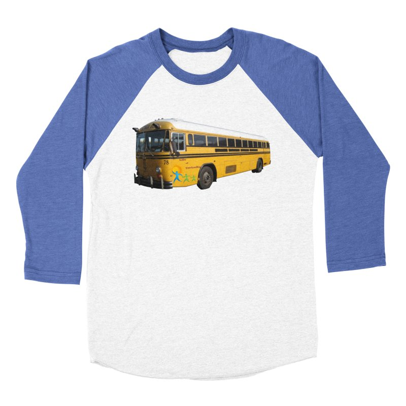Leia Bus Men's Baseball Triblend Longsleeve T-Shirt by The Life of Curiosity Store