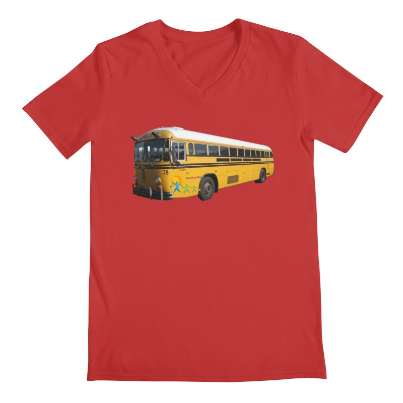 Leia Bus Men's V-Neck by The Life of Curiosity Store