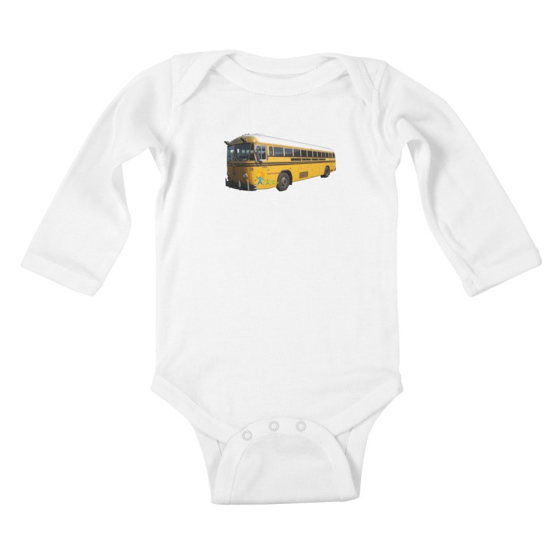 Leia Bus Kids Baby Longsleeve Bodysuit by The Life of Curiosity Store