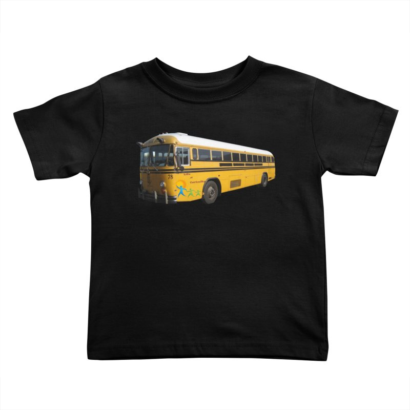 Leia Bus Kids Toddler T-Shirt by The Life of Curiosity Store