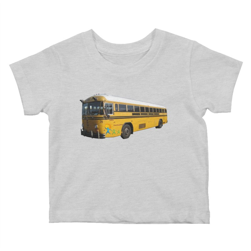 Leia Bus Kids Baby T-Shirt by The Life of Curiosity Store