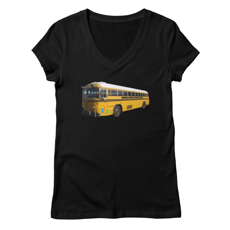 Leia Bus Women's V-Neck by The Life of Curiosity Store
