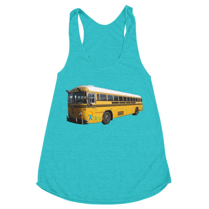 Leia Bus Women's Racerback Triblend Tank by The Life of Curiosity Store