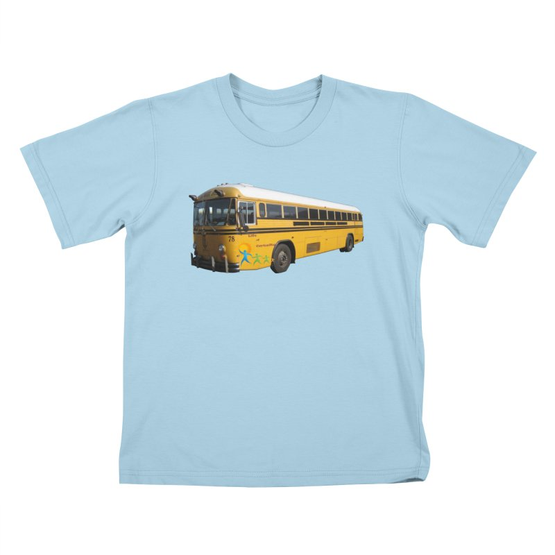 Leia Bus Kids T-Shirt by The Life of Curiosity Store