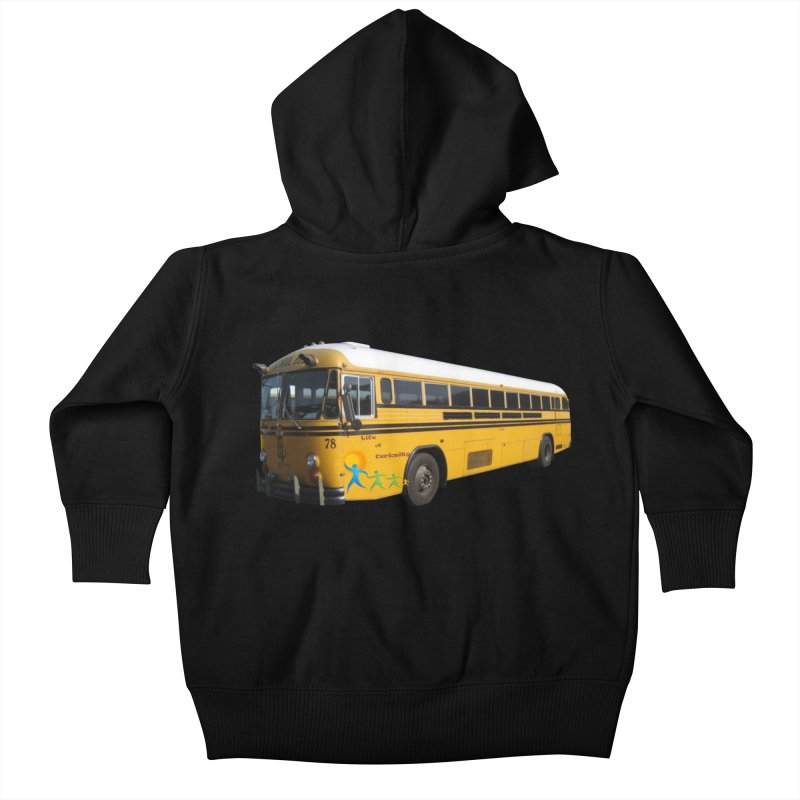 Leia Bus Kids Baby Zip-Up Hoody by The Life of Curiosity Store