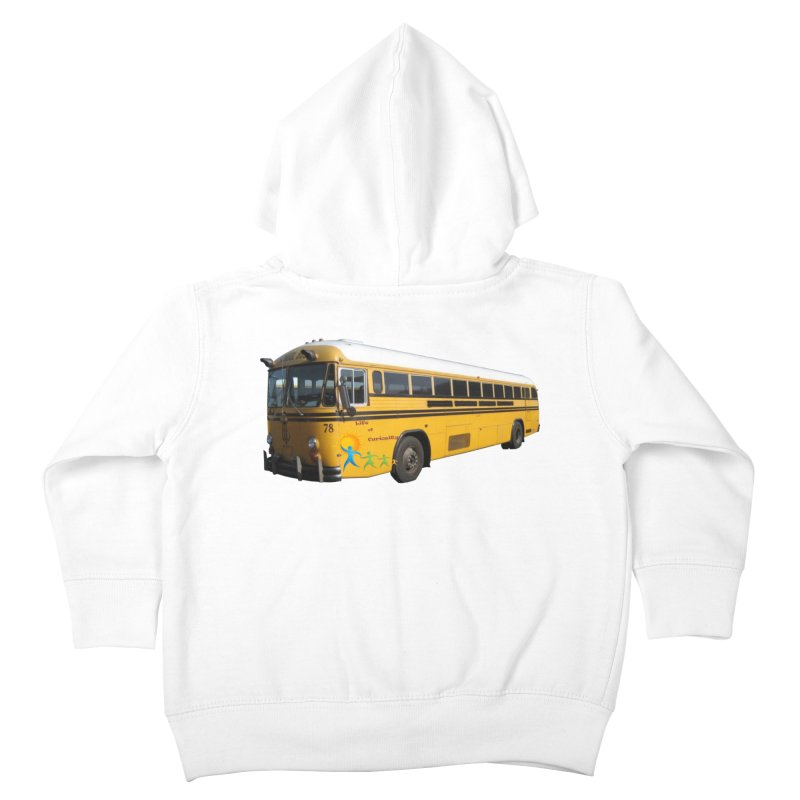 Leia Bus Kids Toddler Zip-Up Hoody by The Life of Curiosity Store