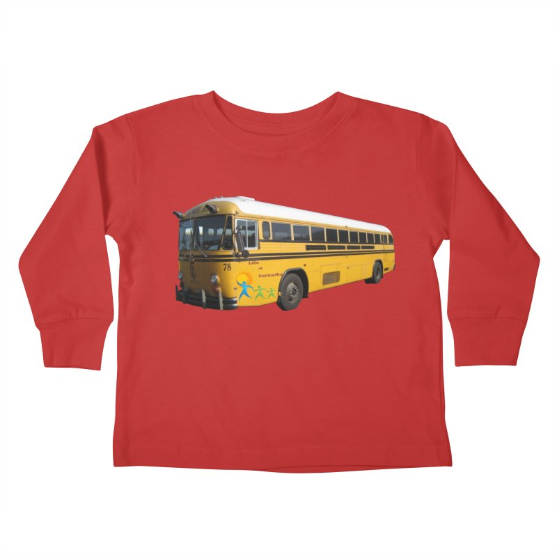 Leia Bus Kids Toddler Longsleeve T-Shirt by The Life of Curiosity Store