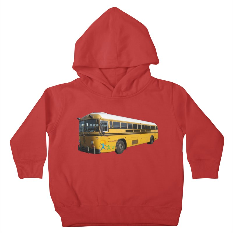 Leia Bus Kids Toddler Pullover Hoody by The Life of Curiosity Store