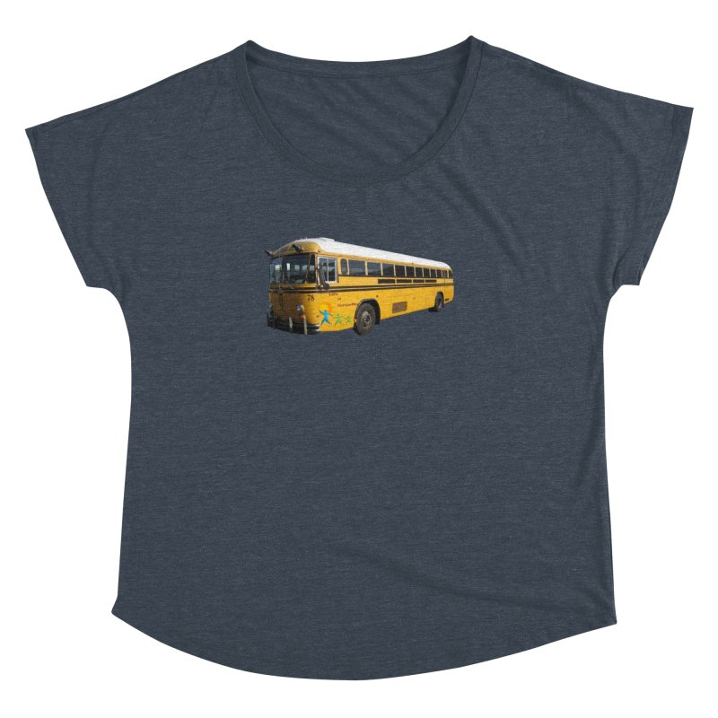 Leia Bus Women's Dolman Scoop Neck by The Life of Curiosity Store