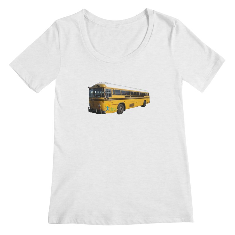 Leia Bus Women's Regular Scoop Neck by The Life of Curiosity Store