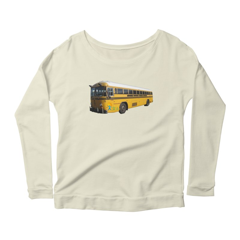 Leia Bus Women's Scoop Neck Longsleeve T-Shirt by The Life of Curiosity Store