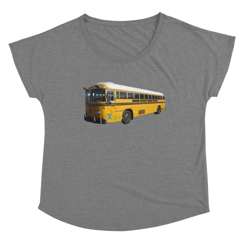 Leia Bus Women's Scoop Neck by The Life of Curiosity Store
