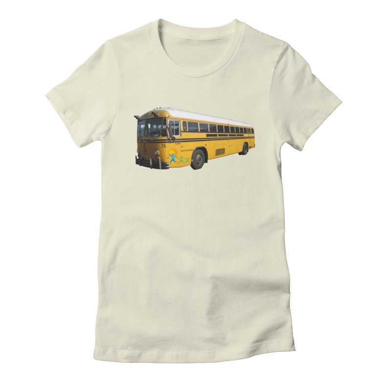 Leia Bus Women's Fitted T-Shirt by The Life of Curiosity Store