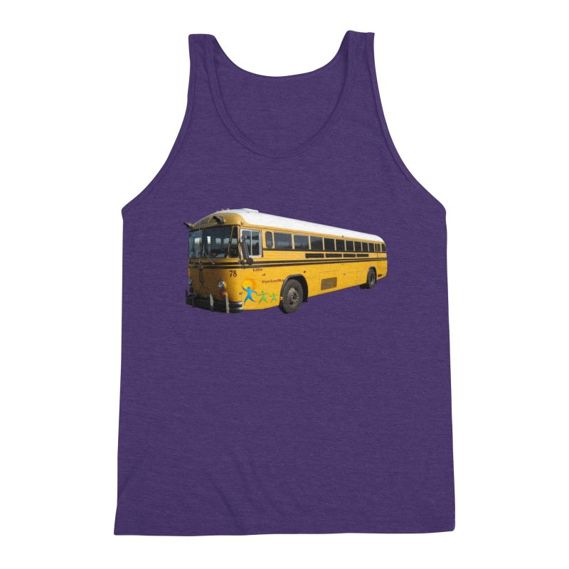 Leia Bus Men's Triblend Tank by The Life of Curiosity Store