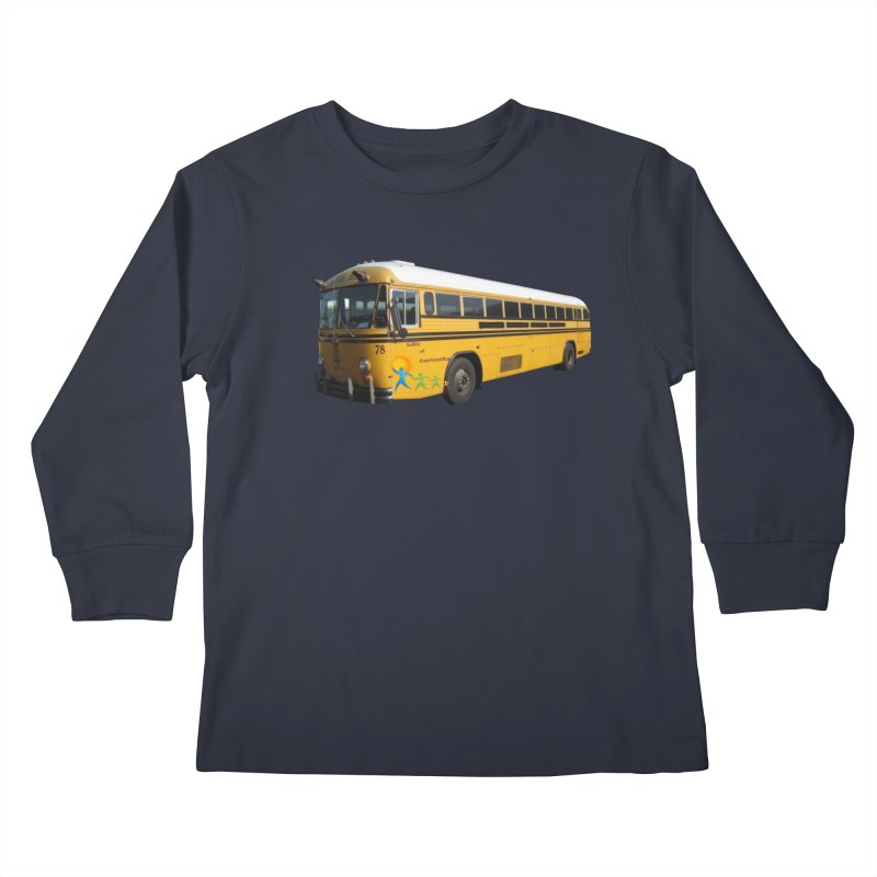 Leia Bus Kids Longsleeve T-Shirt by The Life of Curiosity Store