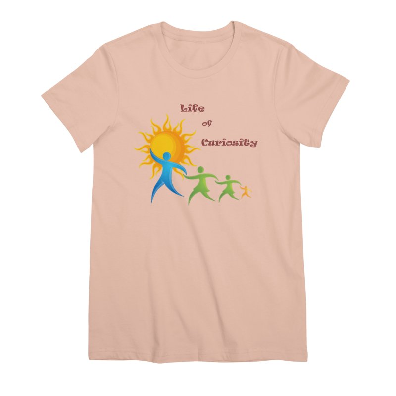 The LoC Logo Women's Premium T-Shirt by The Life of Curiosity Store