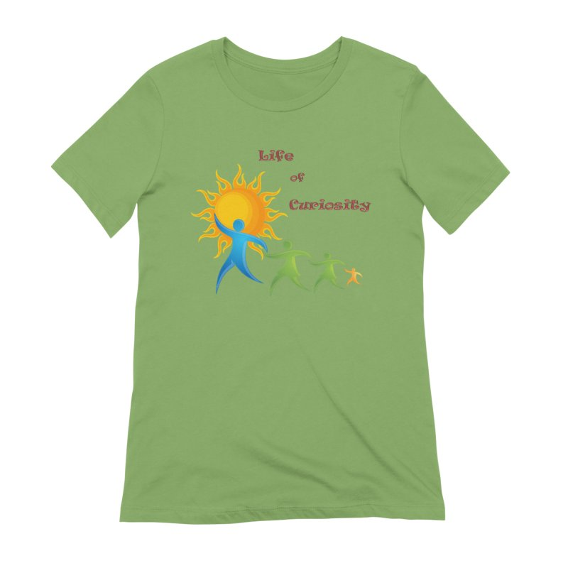 The LoC Logo Women's Extra Soft T-Shirt by The Life of Curiosity Store