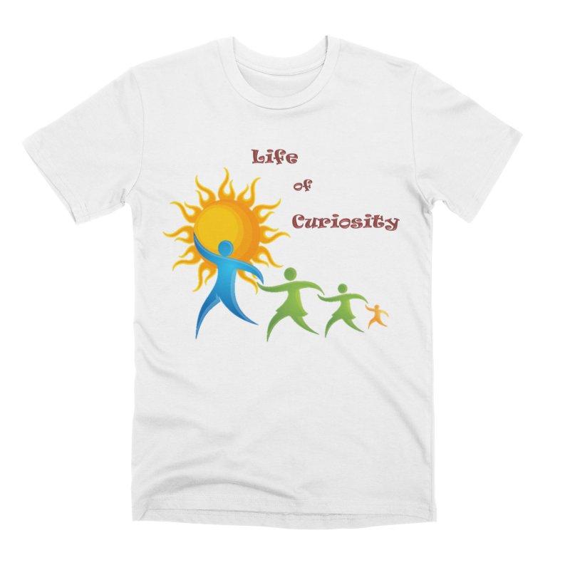 The LoC Logo Men's Premium T-Shirt by The Life of Curiosity Store