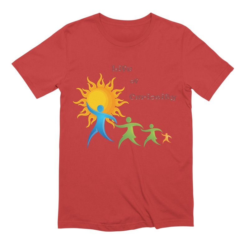 The LoC Logo Men's Extra Soft T-Shirt by The Life of Curiosity Store