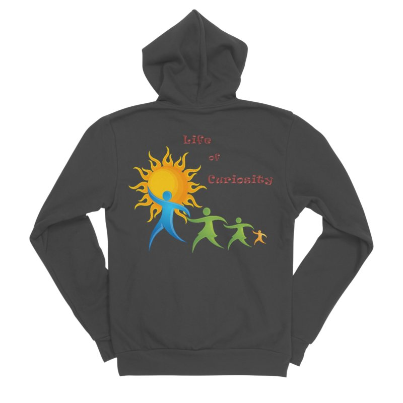 The LoC Logo Women's Zip-Up Hoody by The Life of Curiosity Store