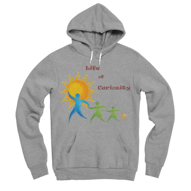 The LoC Logo Women's Sponge Fleece Pullover Hoody by The Life of Curiosity Store