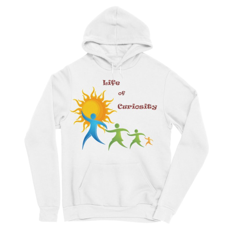 The LoC Logo Men's Sponge Fleece Pullover Hoody by The Life of Curiosity Store