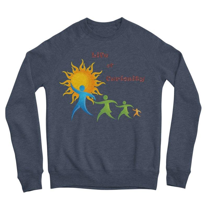 The LoC Logo Men's Sponge Fleece Sweatshirt by The Life of Curiosity Store