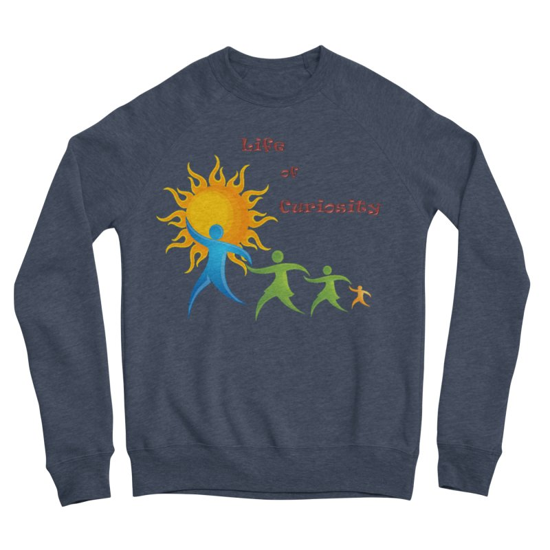 The LoC Logo Women's Sponge Fleece Sweatshirt by The Life of Curiosity Store