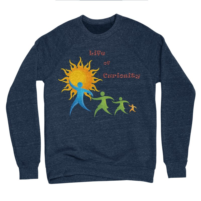 The LoC Logo Women's Sponge Fleece Sweatshirt by The Life of Curiosity Store