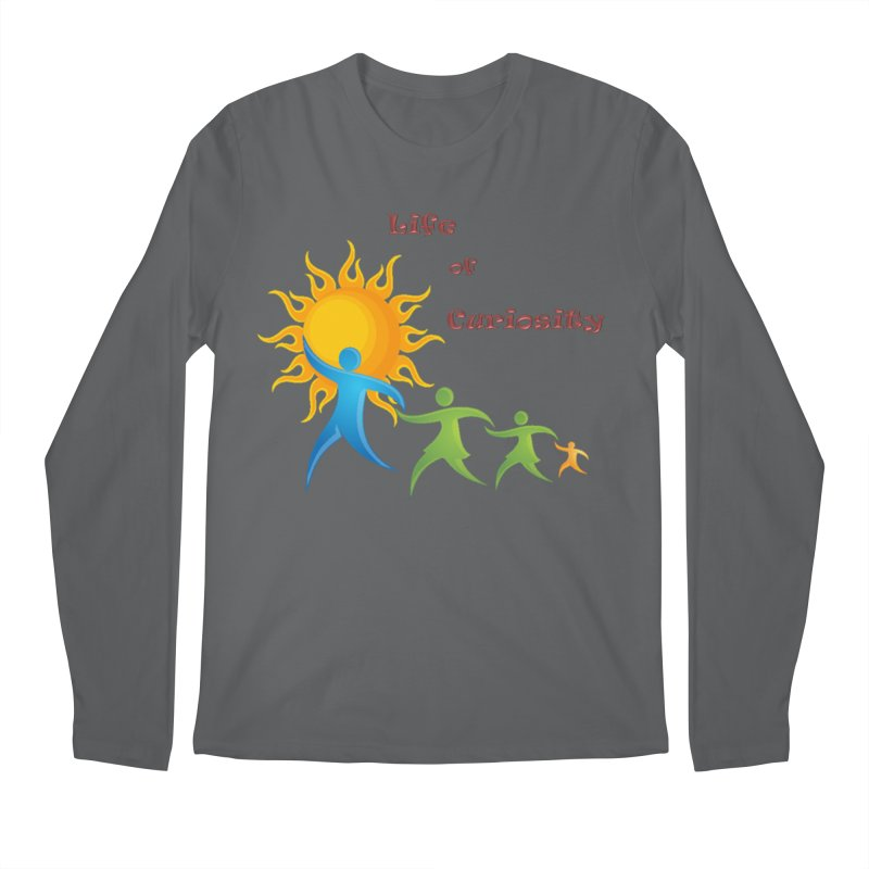 The LoC Logo Men's Longsleeve T-Shirt by The Life of Curiosity Store