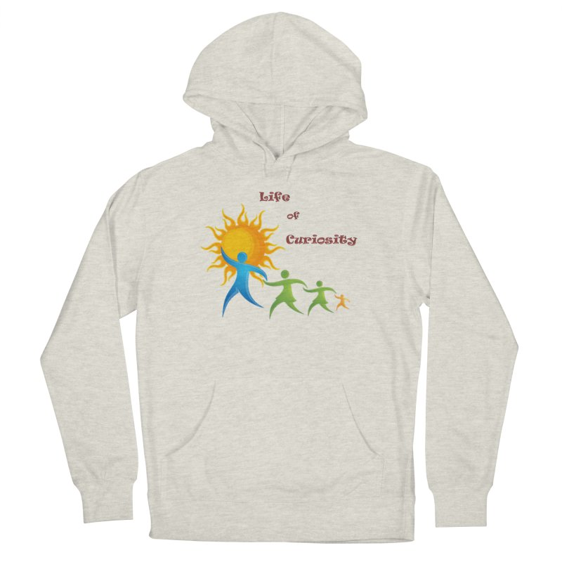 The LoC Logo Men's French Terry Pullover Hoody by The Life of Curiosity Store