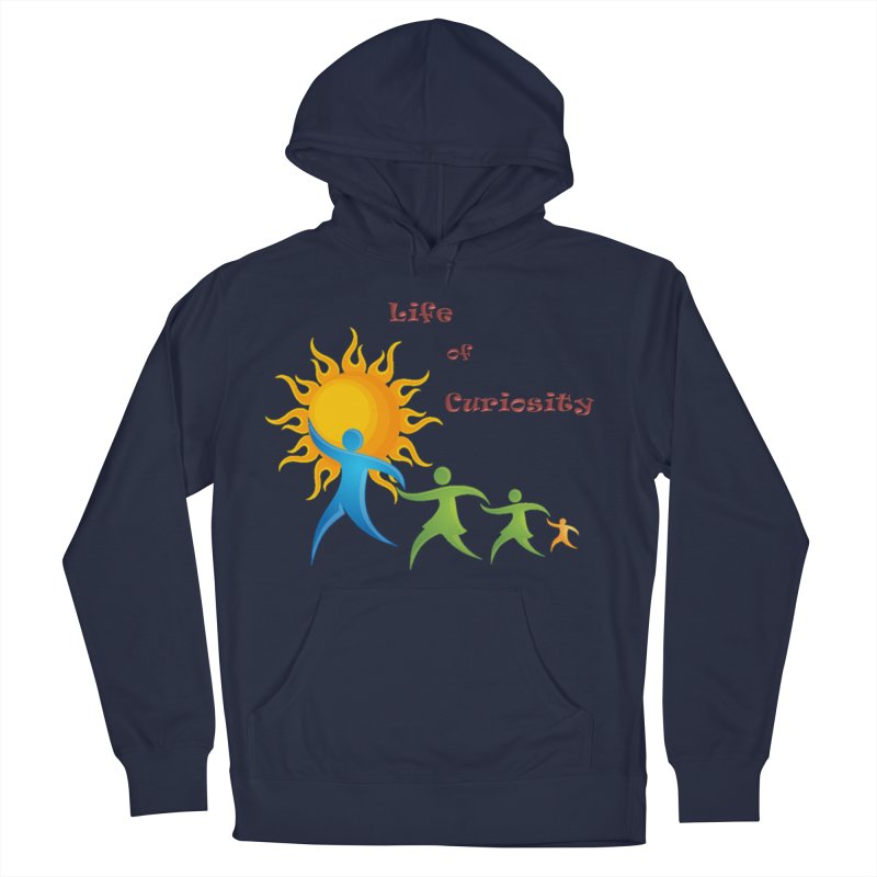 The LoC Logo Women's French Terry Pullover Hoody by The Life of Curiosity Store