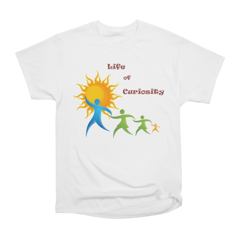 The LoC Logo Men's Heavyweight T-Shirt by The Life of Curiosity Store