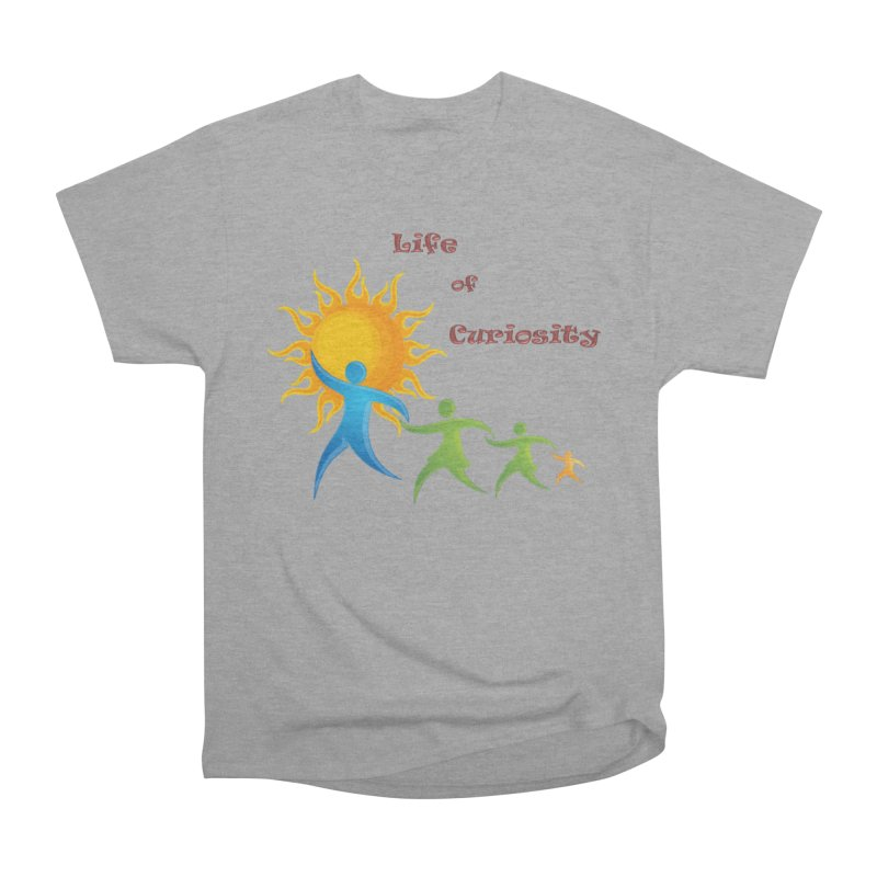 The LoC Logo Women's Heavyweight Unisex T-Shirt by The Life of Curiosity Store