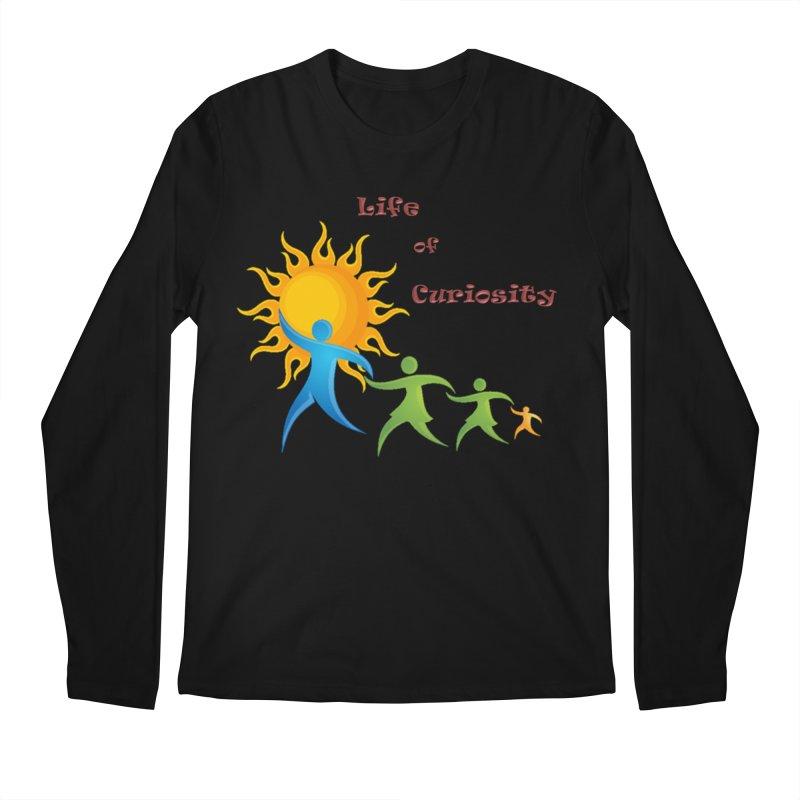 The LoC Logo Men's Regular Longsleeve T-Shirt by The Life of Curiosity Store