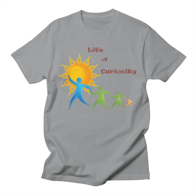 The LoC Logo Women's Regular Unisex T-Shirt by The Life of Curiosity Store