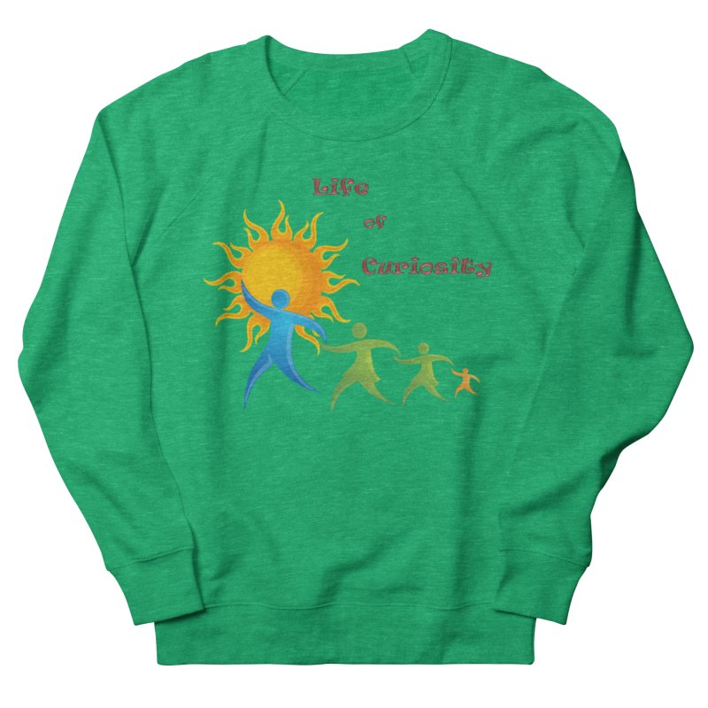 The LoC Logo Women's Sweatshirt by The Life of Curiosity Store