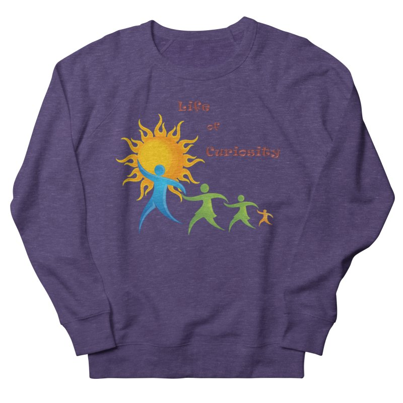 The LoC Logo Women's French Terry Sweatshirt by The Life of Curiosity Store