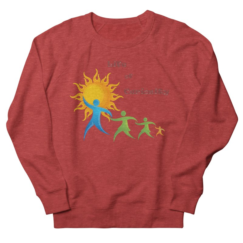 The LoC Logo Men's French Terry Sweatshirt by The Life of Curiosity Store