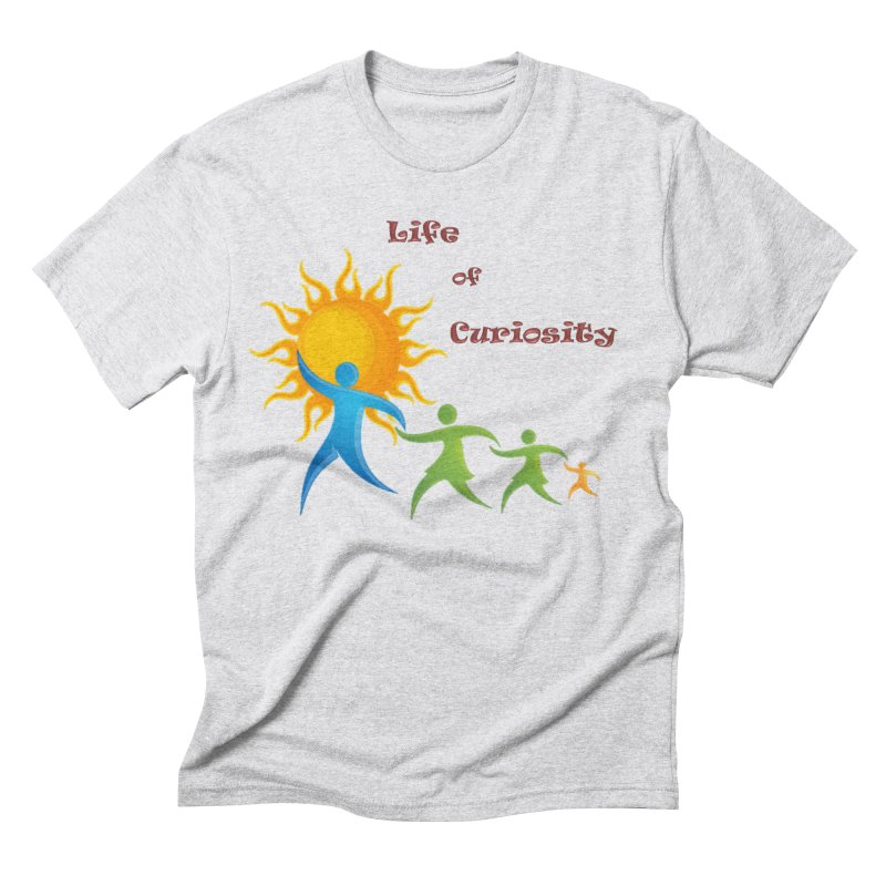 The LoC Logo Men's Triblend T-Shirt by The Life of Curiosity Store