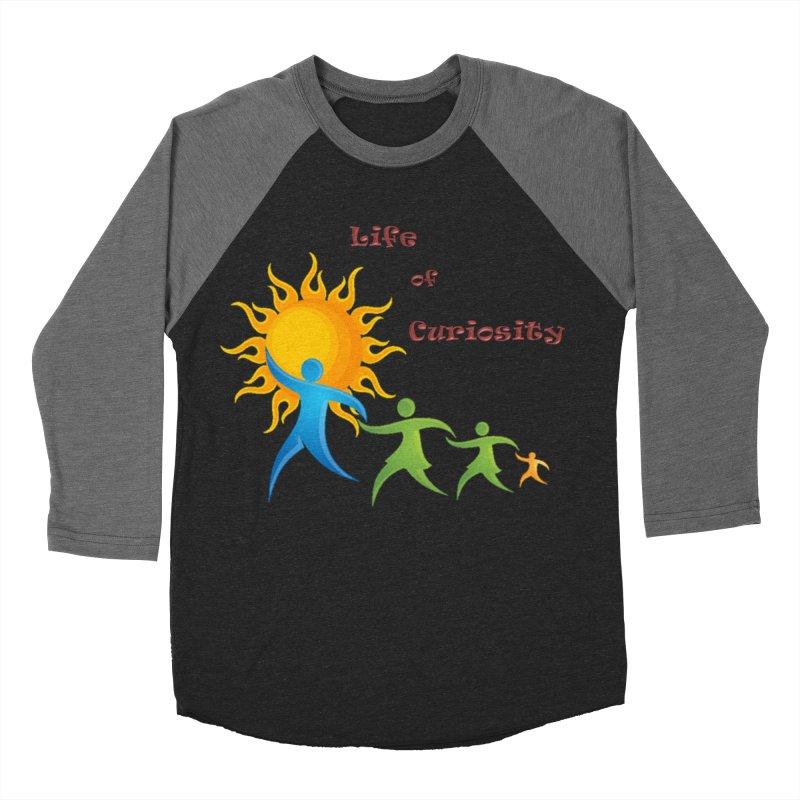 The LoC Logo Women's Baseball Triblend Longsleeve T-Shirt by The Life of Curiosity Store
