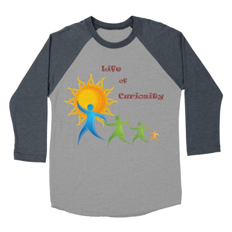 The LoC Logo Men's Baseball Triblend Longsleeve T-Shirt by The Life of Curiosity Store