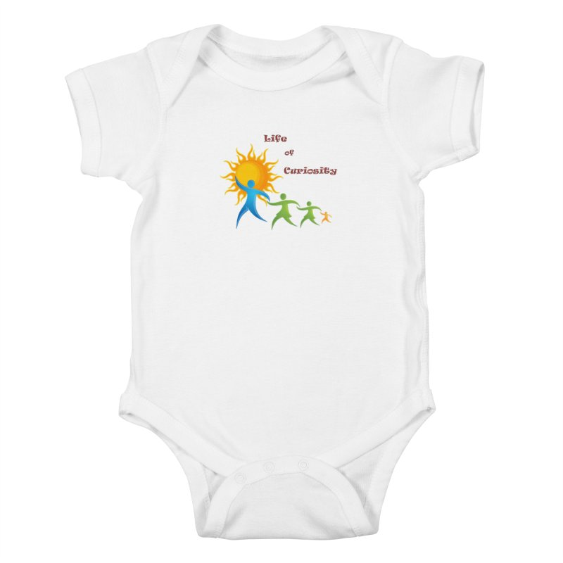 The LoC Logo Kids Baby Bodysuit by The Life of Curiosity Store