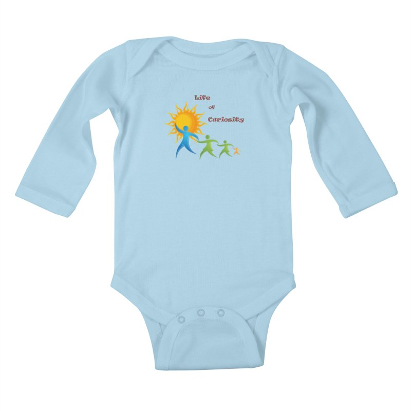 The LoC Logo Kids Baby Longsleeve Bodysuit by The Life of Curiosity Store