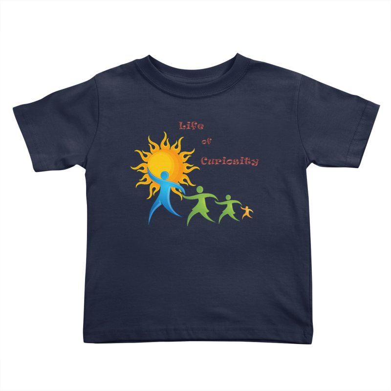 The LoC Logo Kids Toddler T-Shirt by The Life of Curiosity Store