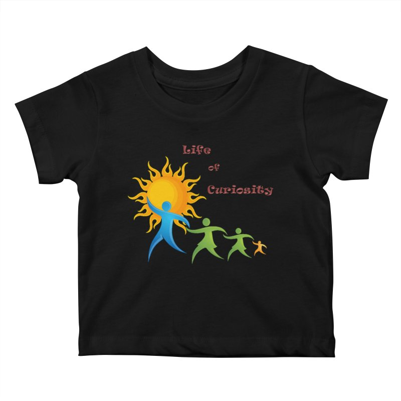 The LoC Logo Kids Baby T-Shirt by The Life of Curiosity Store