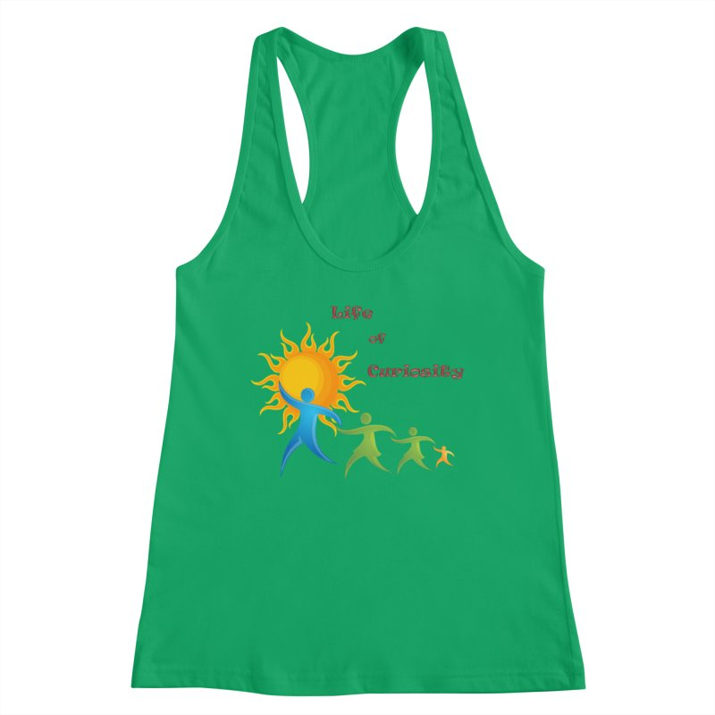 The LoC Logo Women's Tank by The Life of Curiosity Store