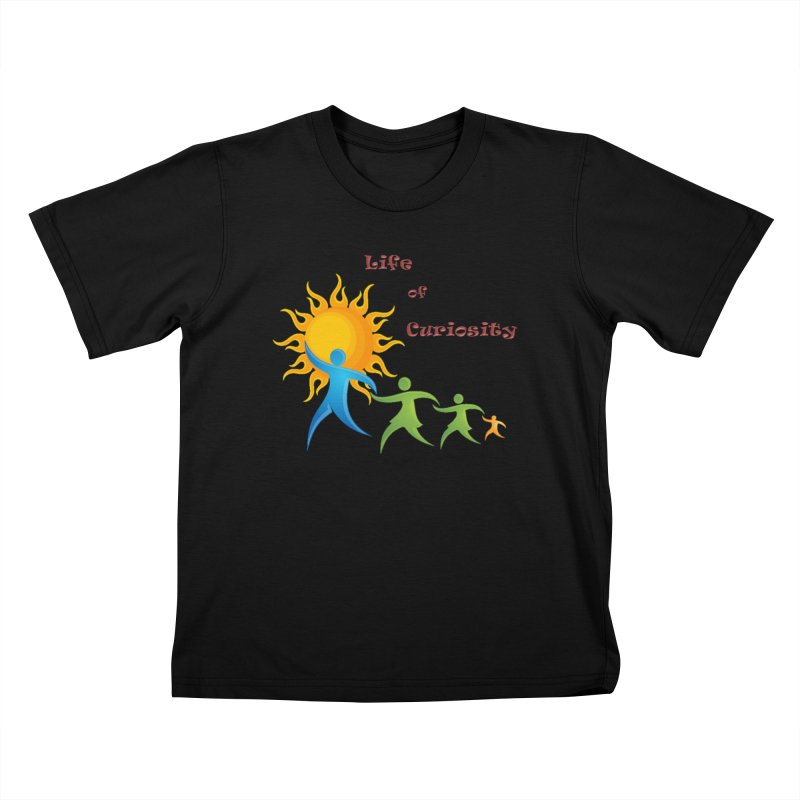 The LoC Logo Kids T-Shirt by The Life of Curiosity Store